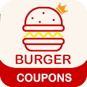 Coupons For Burger King - Promo Code Smart Food 🍔 icon