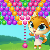 Kitty Pop Bubble Shooter