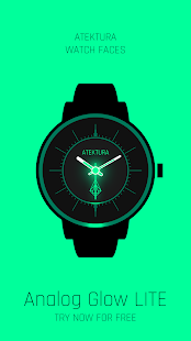 Analog Glow LITE Watch Face- screenshot thumbnail