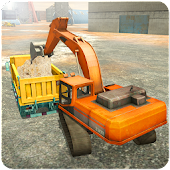 Sand Excavator,Road Build & Construction Simulator