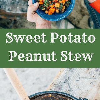 African Sweet Potato and Peanut Stew