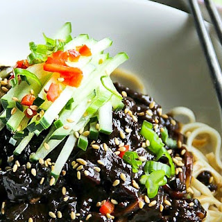 Black Bean Noodles -Jjajangmyeon (Jajang-myan)