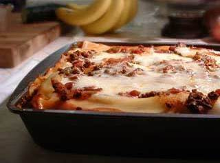 This Is Not An Actual Picture Of My Lasagna, But It Is Very Close To What Mine Looks Like. I Always Use A Glass Casserole Dish.