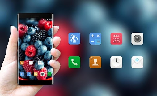 Theme for Gionee Pioneer P5L - náhled