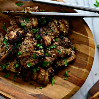 Grilled Za'atar Chicken Thighs