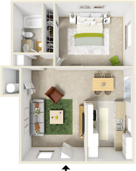 Go to Fern Creek Floorplan page.