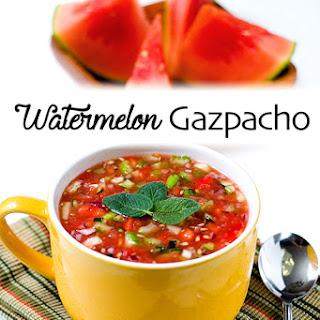 Watermelon Gazpacho {Recipe}