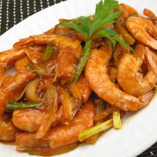 Garlic Prawns With Tomato Sauce Recipes.