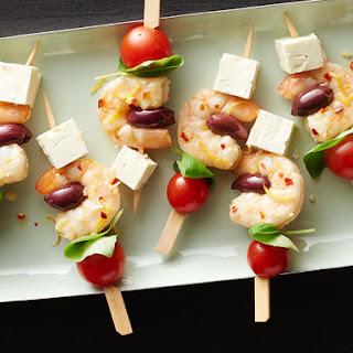 Mediterranean Shrimp Kabobs