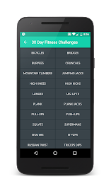 30 Day Fitness Challenges Screenshot 4