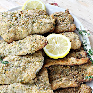 BAKED TURKEY CUTLET PARMESAN Recipe
