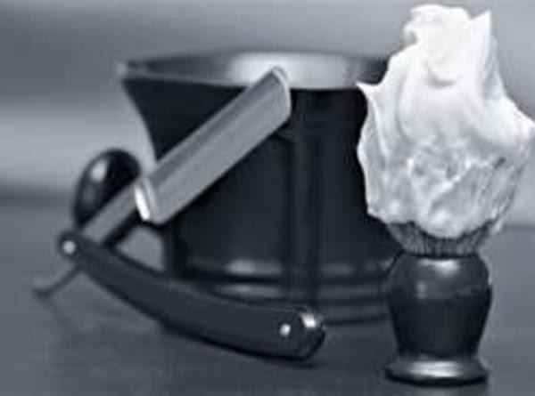 Minty Olive Oil Shaving Cream Recipe