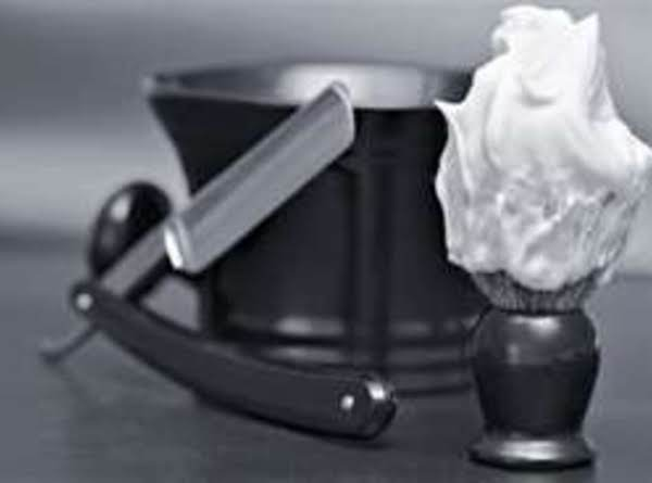 Minty Olive Oil Shaving Cream Recipe