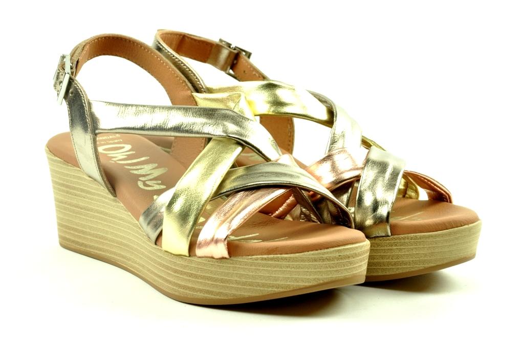 oh my sandals sleehakken sandaal