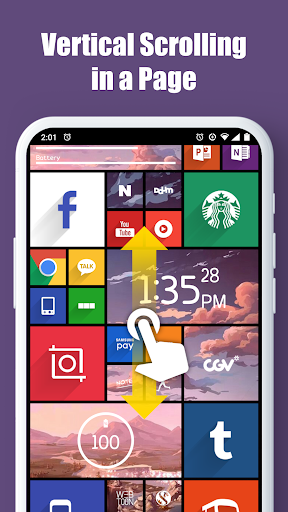 Square Home - Launcher : Windows style screenshots 5