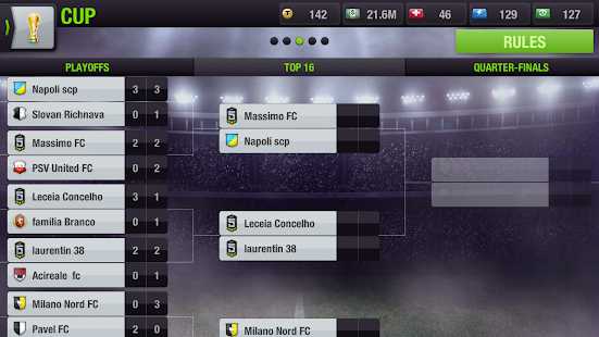 Top Eleven Be a Soccer Manager- screenshot thumbnail