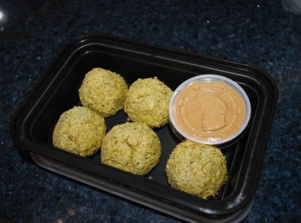 Oven Baked Falafels