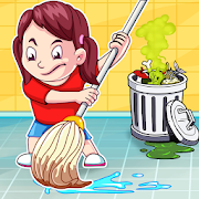 Big City and Home Cleanup – Girls Cleaning Fun