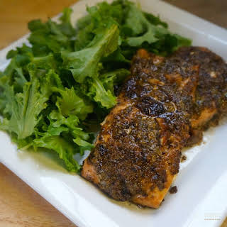 Spiced-Rubbed Salmon.