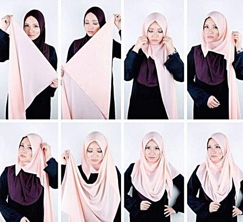 Trendy Hijab Tutorial 2016