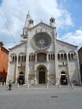 Photo: Front view, Modena Duomo