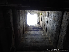 Photo: view up in the main tower, Ta Keo