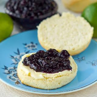 Newfoundland Blueberry Jam with Lime.