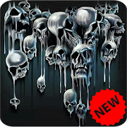 App Icon for Skull Wallpaper App in United States Play Store