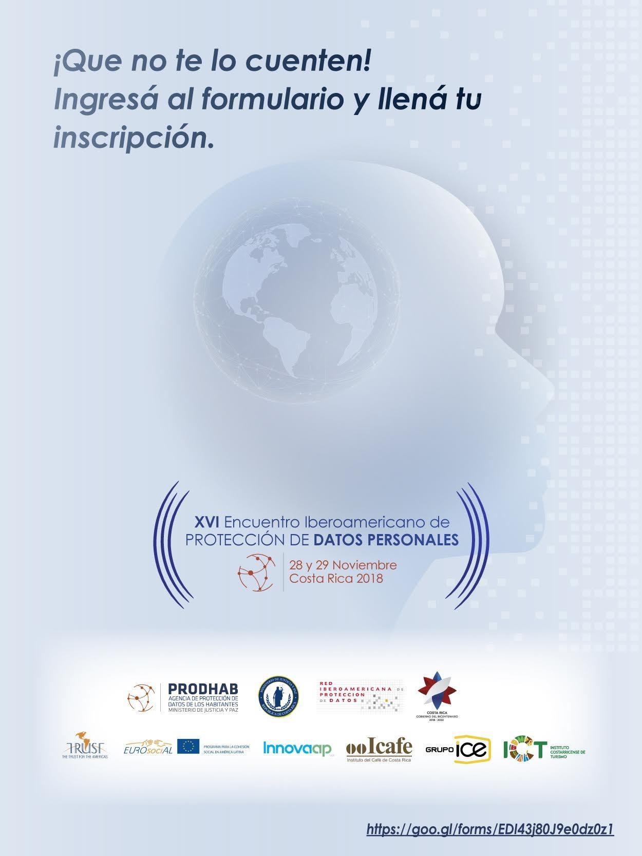 XVI Encuentro Iberoamericano de Protección de Datos Personales