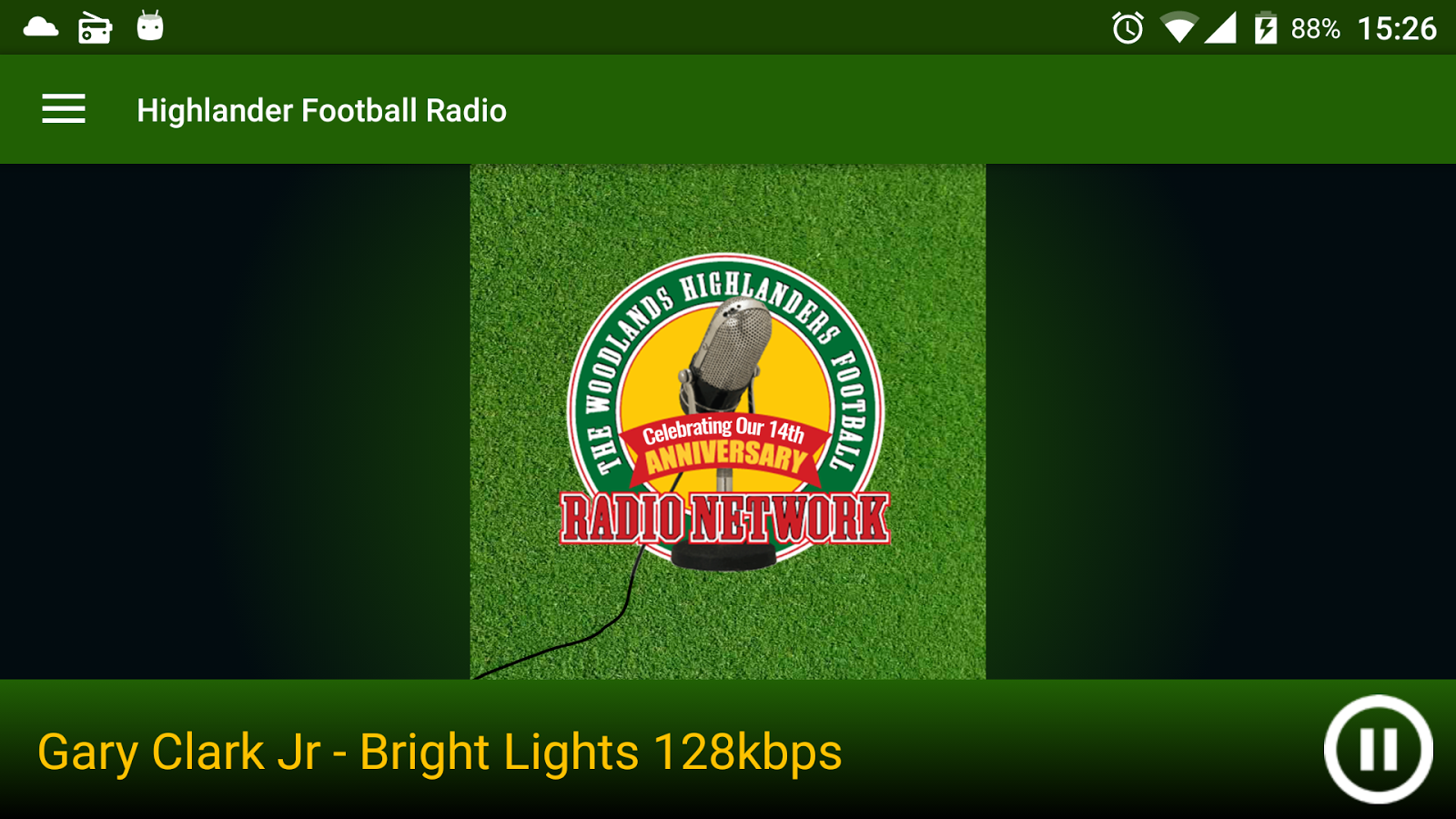 Highlander Football Radio- screenshot