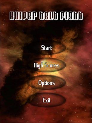 Kuiper belt Space Shooter screenshot