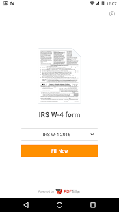 IRS W-4 form- screenshot thumbnail