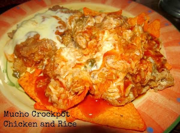 Jamie's Mucho Crockpot Chicken And Rice