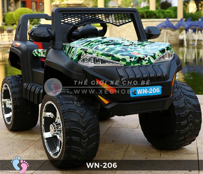 Xe hơi điện địa hình cho bé WN-206 6