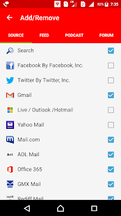 Email mail Inbox email suite All emails - RSS FEED - náhled