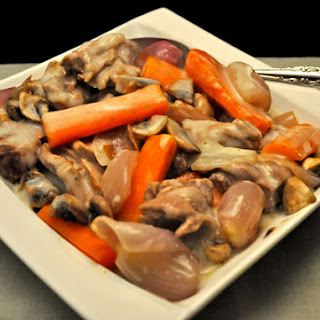 Blanquette de Veau or Veal in White Wine Sauce