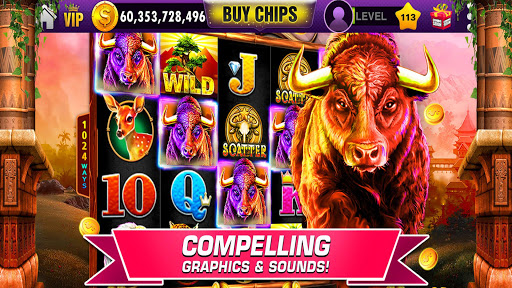Slots : FREE Vegas Slot Machines - 7Heart Casino! 1.71 screenshots 2