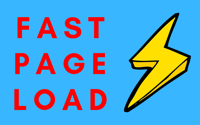 Fast Page Load