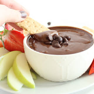 Healthy Brownie Batter Dip.