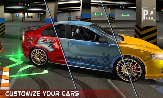 Multi-Level Car Parking Driver - screenshot