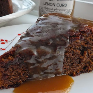 Sticky Toffee Pudding Cake.