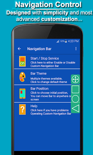 Navigation Control Bar : Back Button 1.8 screenshots 2