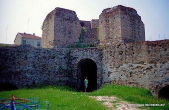 Photo: 30 juli. Italië. Ravenna. Porto Serrata. Rocca Brancale.