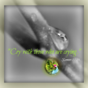 Cry by Robert George - Typography Quotes & Sentences ( , #8rtcoMagazine )