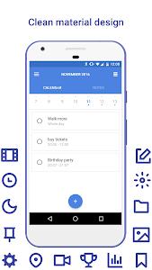 Daily: events, calendar, notes screenshot 0