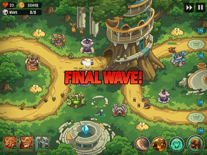 Empire Warriors Premium: Tactical TD Game Screenshot 5