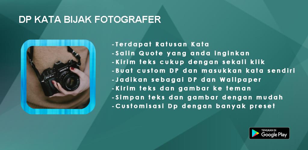 Download Dp Kata Bijak Fotografer Apk Latest Version For Android
