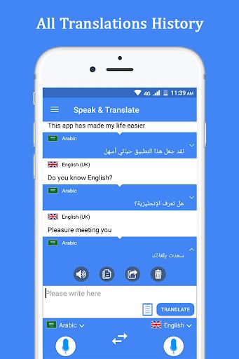 Speak and Translate Voice Translator & Interpreter screenshot 5