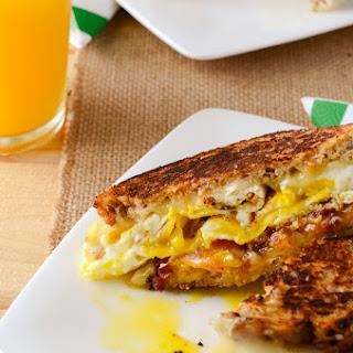 Havarti Breakfast Grilled Cheese Sandwich.