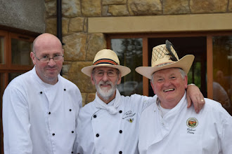 Photo: Chef Michael Young MBE and Master Baker Robert Ditty.